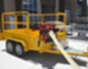 Pearl Fire Hose Retrieval System Trailer