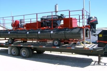 36000LPM Pontoon Fire Pump