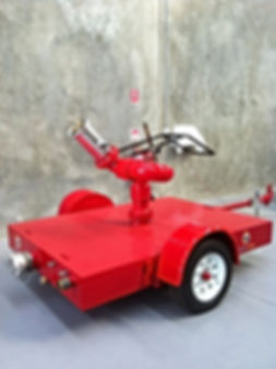 Pearl Fire Emergency Response Fire Fighting Monitor Trailer Big T Williams Nozzle