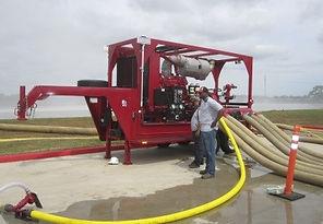 Pearl Fire Emergency Response Transportable Pump Trailer