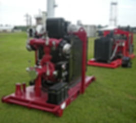 Pearl Fire Emergency Response Fire Fighting Fire Pump Skid