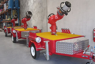 Pearl Fire Emergency Response Fire Fighting Monitor Trailer