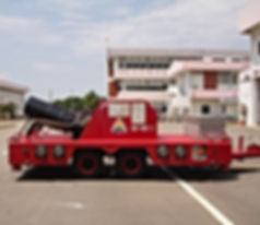 Pearl Fire Emergency Response Fire Fighting Trailer Big Gun Nozzle