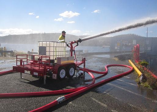 Pearl Fire Emergency Response Fire Fighter Foam Trailer