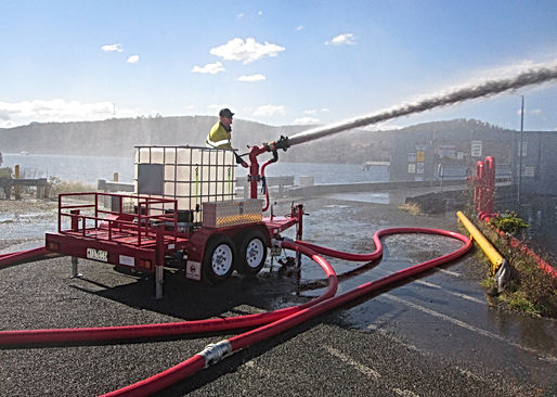Pearl Fire Emergency Response Fire Fighter Foam Trailer