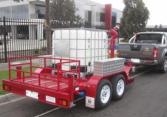 Pearl Fire Emergency Response Fire Fighting Foam Trailr