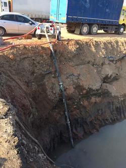 Kube Pump in Muddy Water