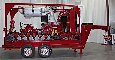 Pearl Fire Emergency Response Fire Fighting 24000 LPM Pump Trailer