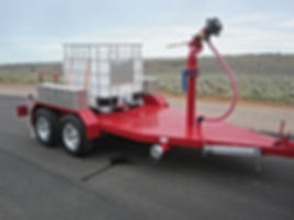 Pearl Fire Emergency Response Fire Fighting Portable Foam Trailer