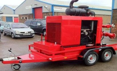 Pearl Fire Emergency Response Fire Fighting Diesel Fire Pump Trailer