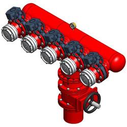 Swivel Multi Manifold Hydrant
