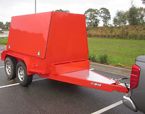 Pearl Fire Emergency Response Fire Fighting Enclosed Hose Trailer