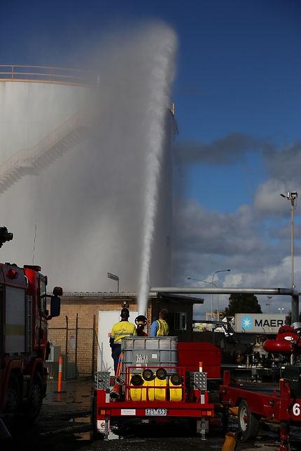 Pearl Fire Emergency Response Fire Fighting Trailer Foam Monitor