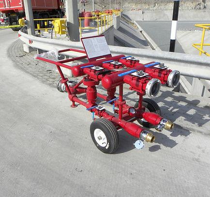 Pearl Fire Emergency Response Fire Fighting JRC Trolley Fittings