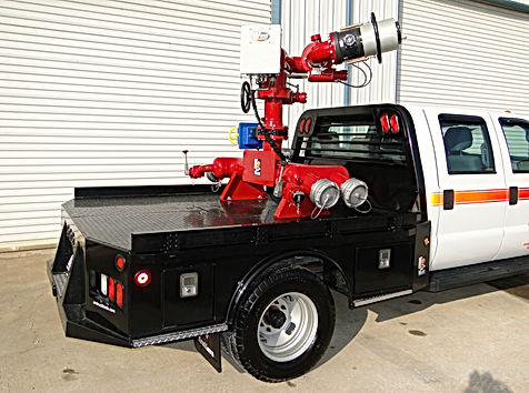 Pearl Fire Emergency Response Fire Fighting Quick Attack Vehicle Monitor