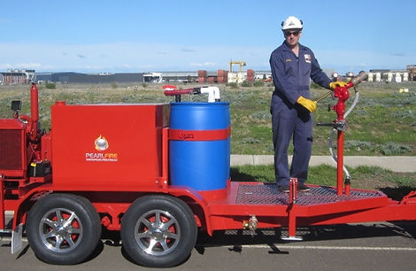 Pearl Fire Emergency Response Fire Fighting Fire Pump Trailer