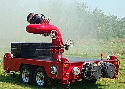 Pearl Fire Emergency Response Fire Fighting Battler Trailer