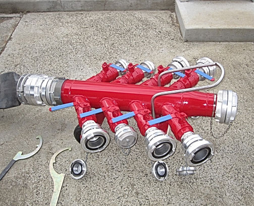Pearl Fire Emergency Response Fire Fighting Manifold