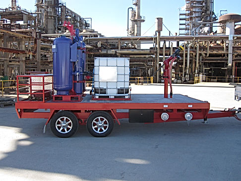 Pearl Fire Emergency Response Fire Fighting Dual Agent Trailer