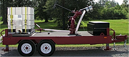 Pearl Fire Foam Storage Trailer