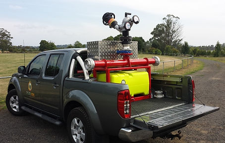 Pearl Fire Emergency Response Fire Fighting Quick Attack Vehicle Ute Mount
