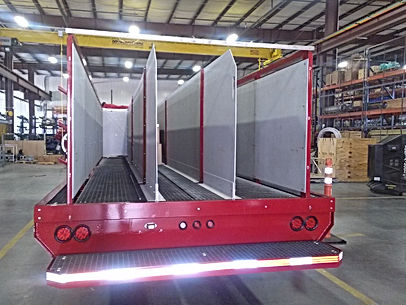 PearlFire Emergecy Response Fire Fighting Hose Trailer