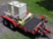 Pearl Fire Emergency Response Fire Fighting Foam Trailer