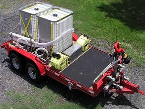 Pearl Fire Emergency Response Fire Fighting Foam Trailer