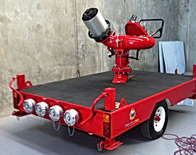 Pearl Fire EmergenAmbassador Monitor Trailery Response Fire Fighting Monito Trailer