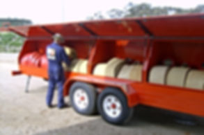Pearl Fire Emergency Response Fire Fighting Portable Hose Trailer