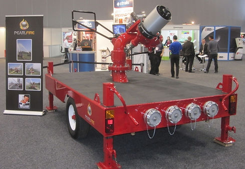 Pearl Fire Emergency Response Fire Fighting Ambassador Monitor Trailer Williams Fire
