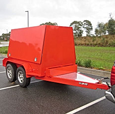 Pearl Fire Emergency Response Fire Fighting Hose Trailer