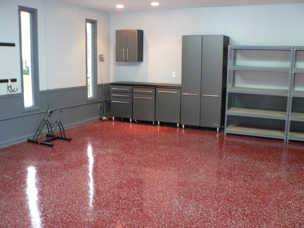 flake floor garage