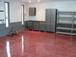 flake floor garage