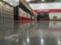 Concrete hardener warehouse floor