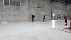 DIY epoxy coating