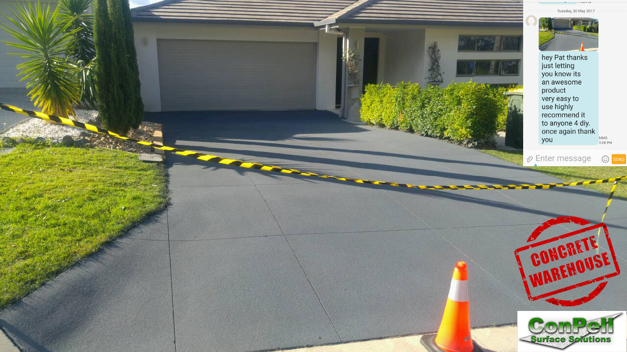 DIY Concrete sealing Brisbane house