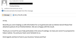 Customer Email