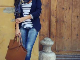 Модные луки для прогулочной фотосессии