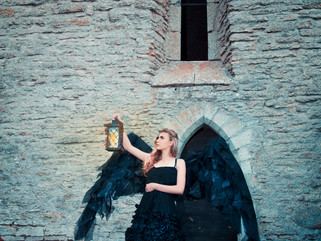 Романтический образ - Ангел смерти