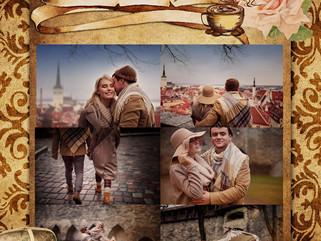 Романтическая фотопрогулка в старом городе