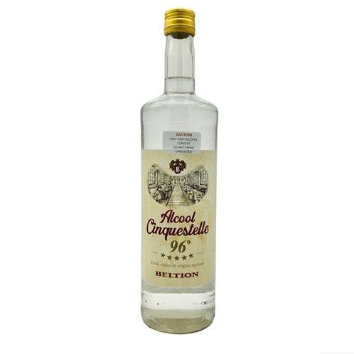 Beltion Alcool Cinquestelle 96% Alcohol Spirit 1L