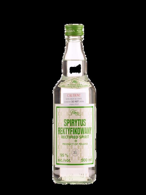 Polmos Spirytus Rektyfikowany (Rectified Spirit) Polish Pure Spirit Vodka 500ml