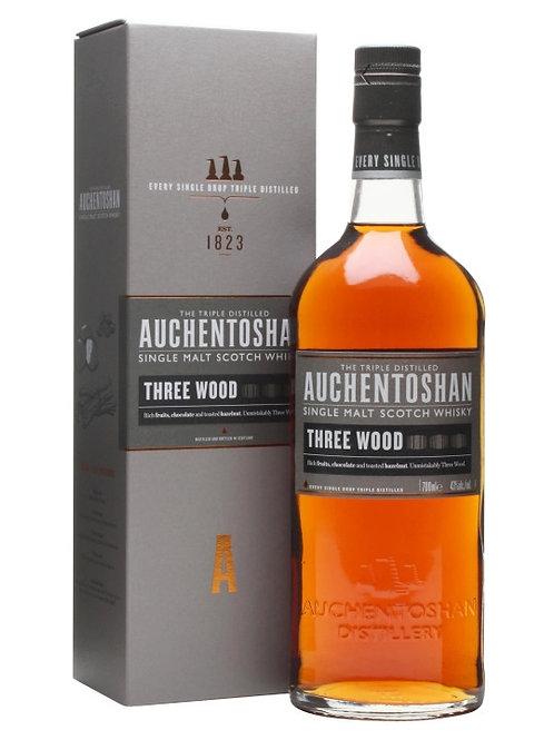 Auchentoshan Three Wood Single Malt Scotch Whisky 700mL