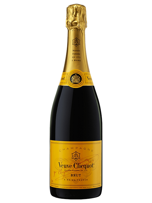Veuve Clicquot Brut Yellow Label Champagne, 750ml