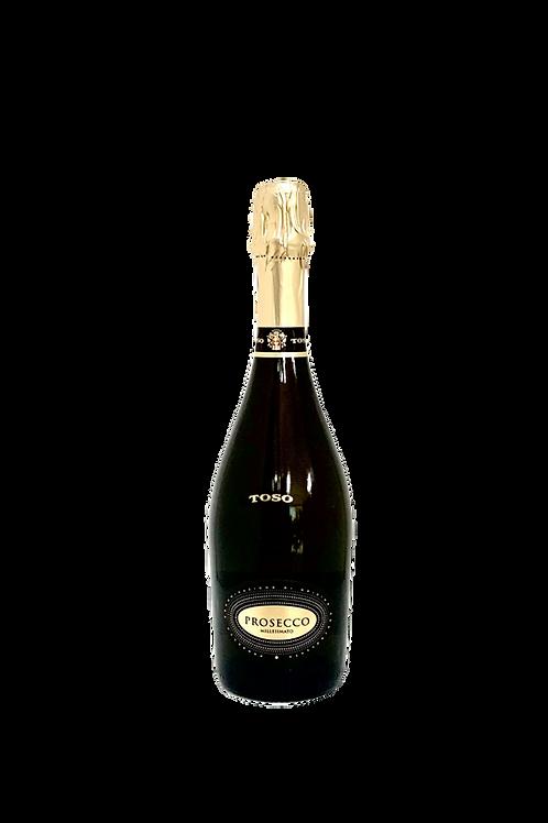Toso, Prosecco Millesimato DOC- Extra-Dry, 750ml