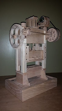 Wooden Punch Press