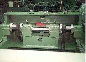 Crankshaft Installed to Press