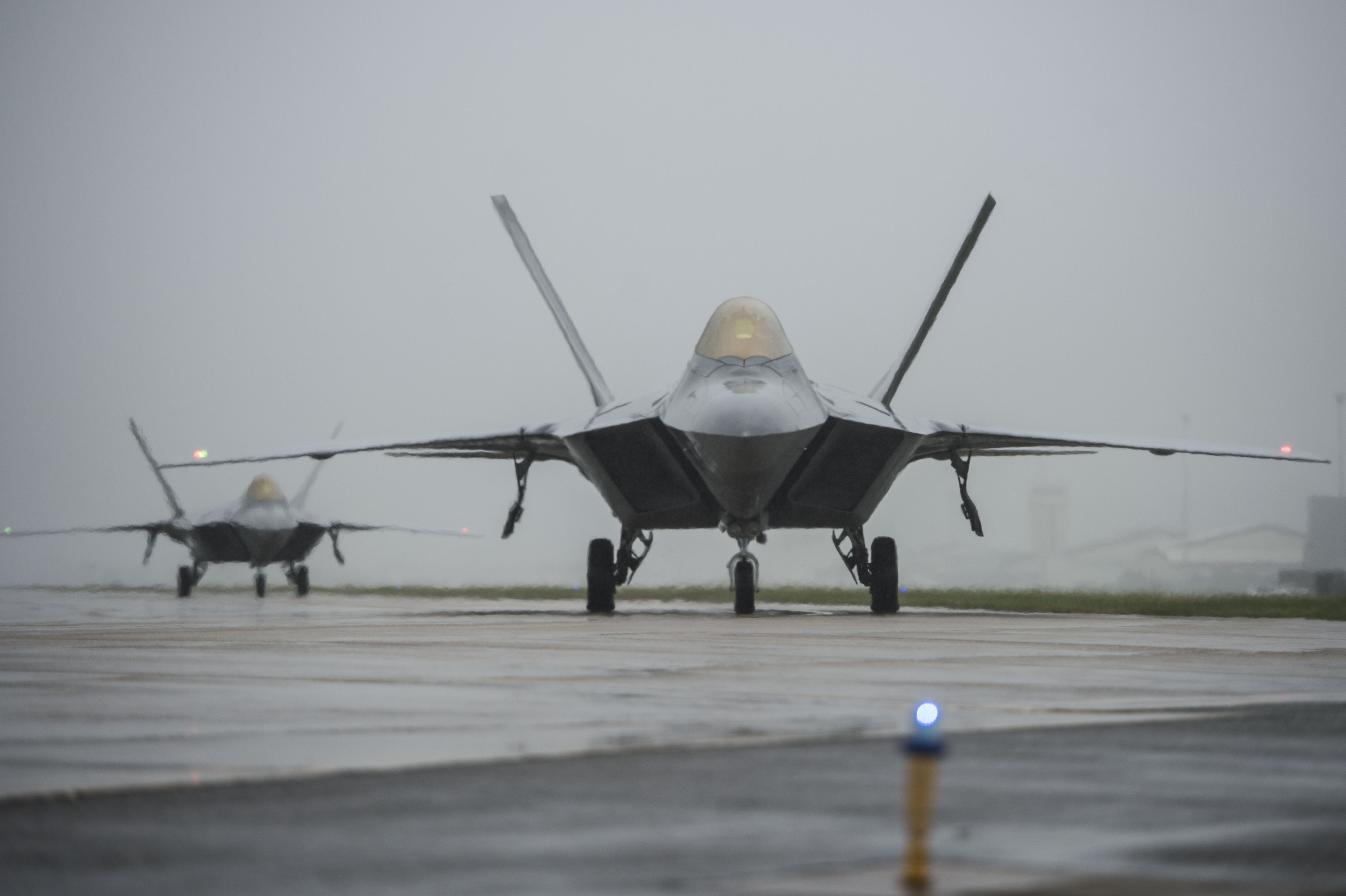 Langley's F-22s