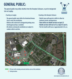 General Public Parking info